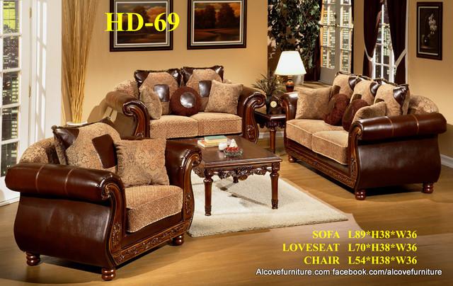 Traditional Sofa sets/Living room sets living-room-furniture-sets