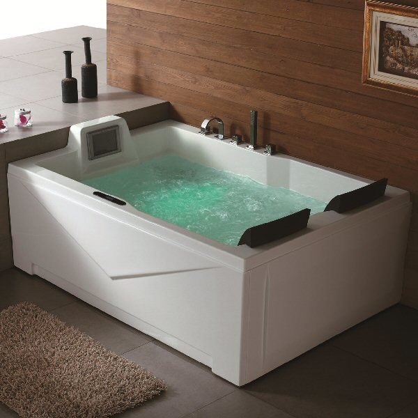 Aquapeutics putnam whirlpool tub modern bathtubs by for Modern bathroom with tub