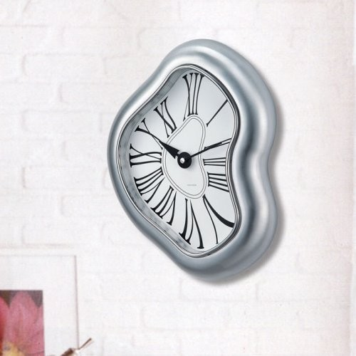 Kirch Melted Metal Dali Clock contemporary clocks