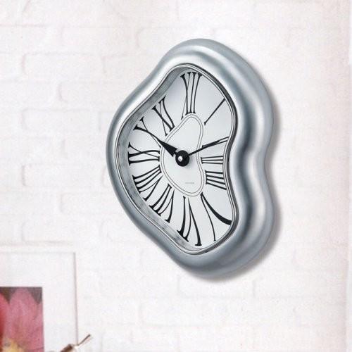 Kirch Melted Metal Dali Clock contemporary-clocks