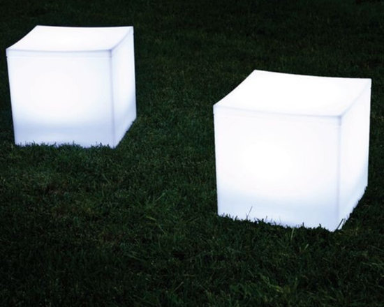 Lighted Lounge Cube - Lighted lounge cube is perfect for casual seating.