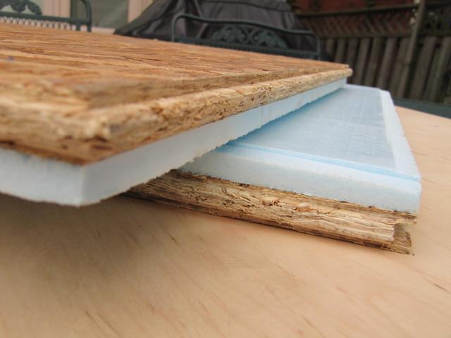 Modular barricade insulated subfloor tiles contemporary for Modular wood flooring