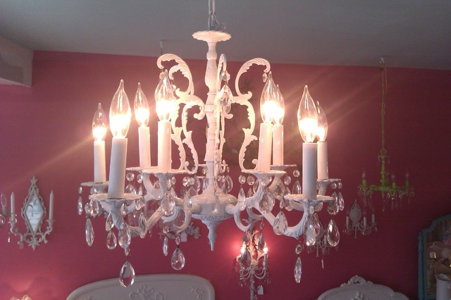 antique crystal chandelier white gloss shabby chic bronze eclectic chandeliers