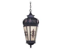 Livex Berkshire 2195-07 Outdoor Hanging Lantern - 25H in. Bronze contemporary-outdoor-lighting