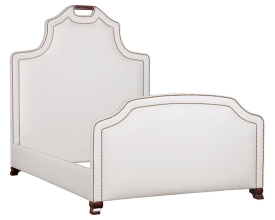 Grace Bed - angle - 72 in tall; add approx 6 in to the width of mattress