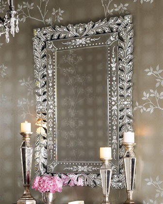 Venetian Wall Mirror traditional-mirrors