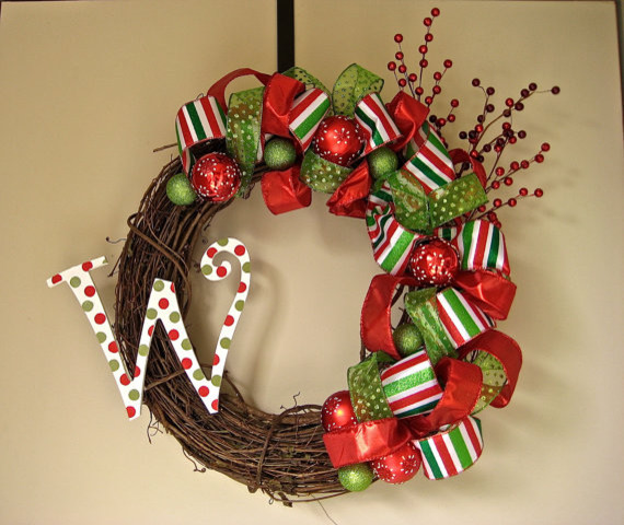 Christmas wreath by lantern in the wood contemporary Outdoor christmas garland ideas