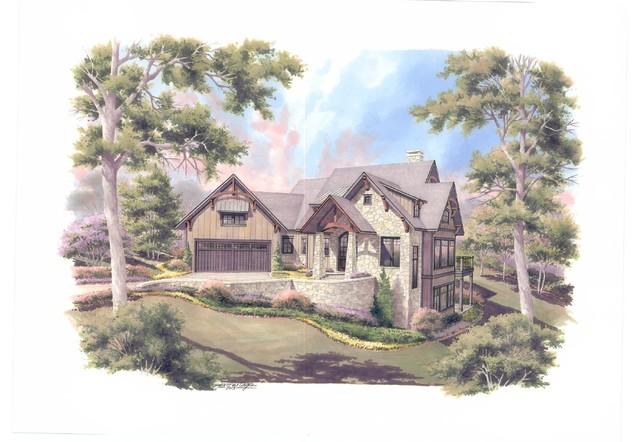 2014 Southern Living Showcase Home at The Ridges at Paris Mountain ...
