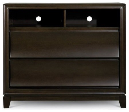 Meridian Media Chest contemporary-dressers