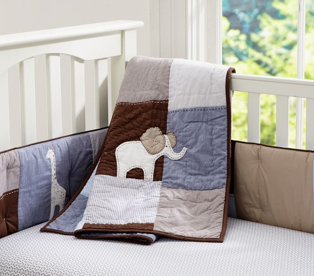 modern baby bedding by Pottery Barn Kids