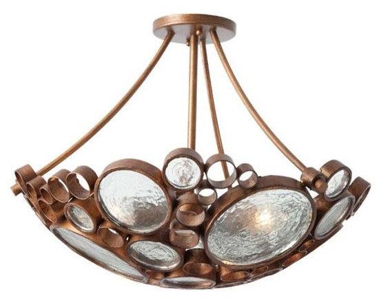 Fascinator Ceiling Light - Ceiling Fixtures - Lighting | HomeDecorators.com -
