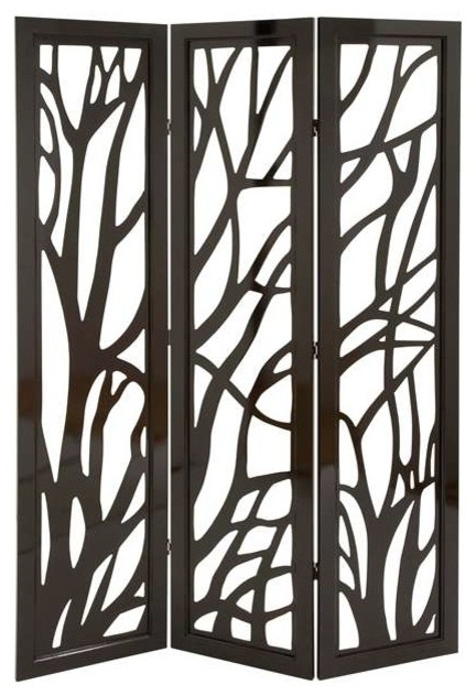 Decorative folding screens screens and room dividers new york by benjamin - Decorative partitions room divider ...
