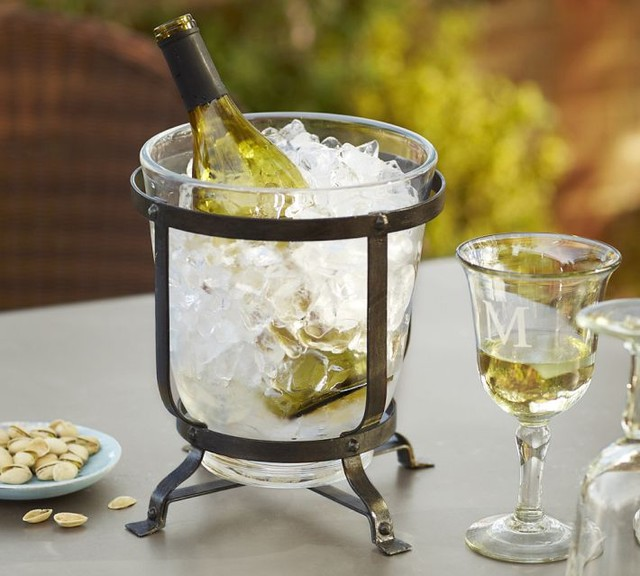 Industry Wine Cooler modern-ice-tools-and-buckets