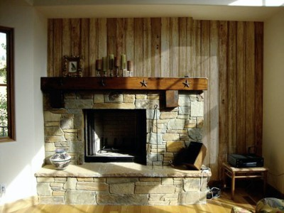 Reclaimed Barn Wood: Red, Gray & Brown - Traditional ...