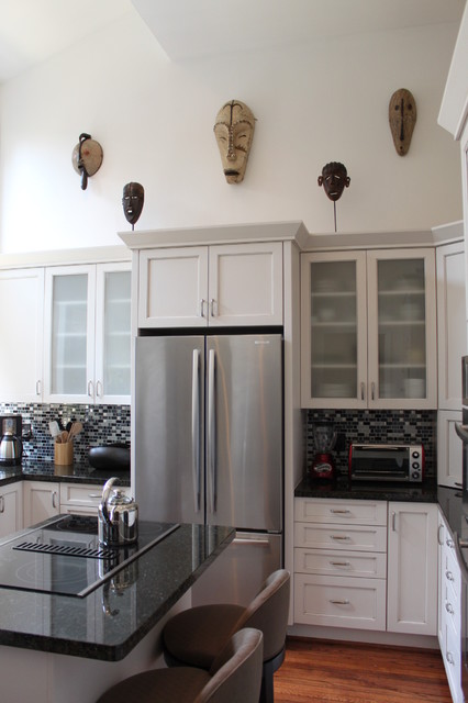 Transitional Kitchen & Baths by Ashley Scherch - Transitional - Kitchen - houston - by Cabinets ...