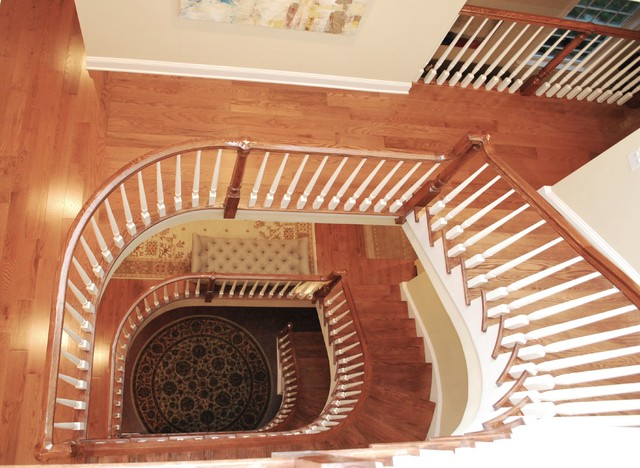 Boston Design Home Staircase, Norwell, MA traditional-staircase