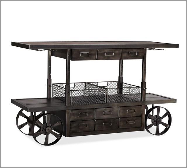 Sheffield Entertaining Bar Cart Traditional Carts