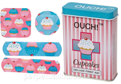 OUCH! Cupcakes Bandages eclectic-baby-and-kids