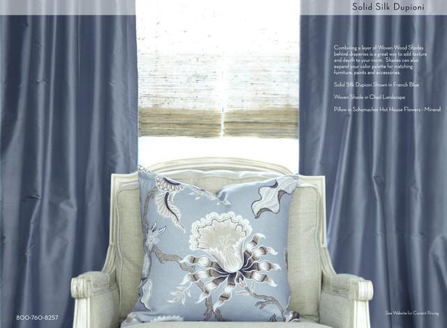 Newport Beach contemporary-curtains