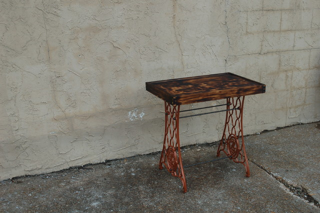 Singer sewing machine table - Eclectic - Side Tables And End Tables - st louis - by ...