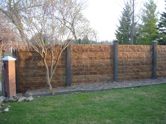 Concrete Fence Projects Modern Home Fencing And Gates