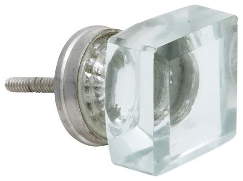 Square Door Pull - Eclectic - Cabinet And Drawer Knobs - other metro - by powder-blue.co.uk