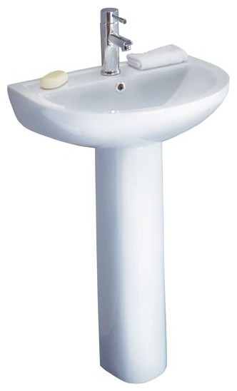 Primo Basin and Pedestal modern-bathroom-vanities-and-sink-consoles