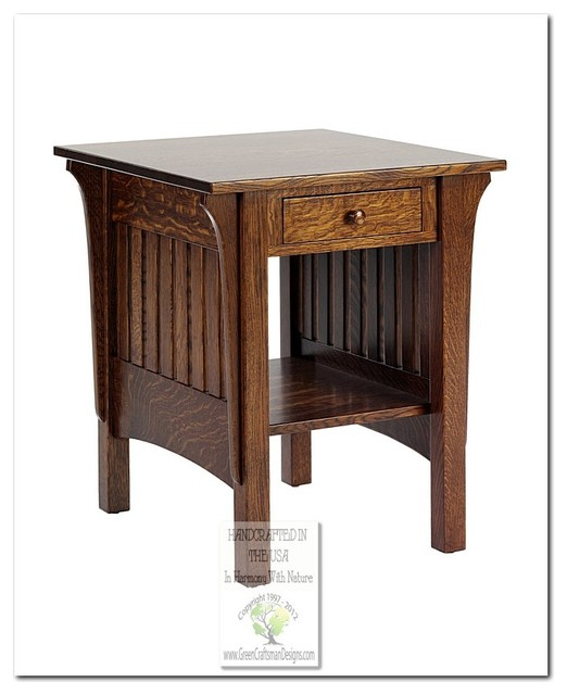 Mission Side Tables and Accent Tables craftsman-side-tables-and-end-tables