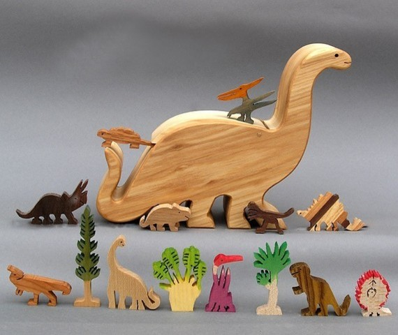 Dinosaur Story Box by Arks and Animals modern-kids-toys-and-games