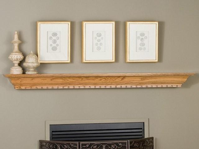 Covington fireplace mantel shelf modern fireplace - Types fireplace mantel shelves choose ...