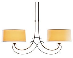 Almost Infinity Duet Two Light Suspension by Hubbardton Forge ceiling-lighting