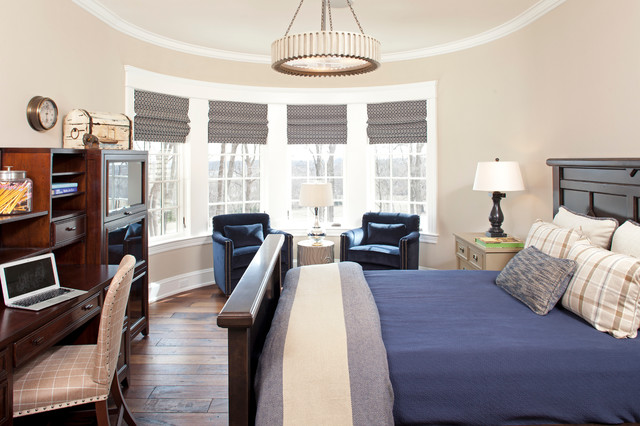Hampton's in the Country traditional-bedroom