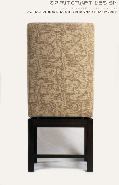 The Manali Dining Chair in Solid Wenge contemporary-dining-chairs
