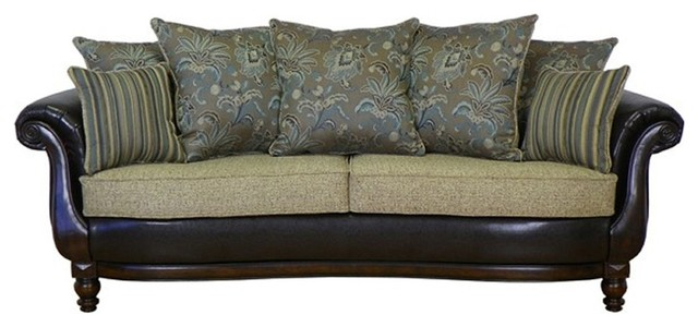 Chelsea Home Furniture - Triad Elizabeth Toscany Horizon Sofa - 1100-S-PC traditional-sofas