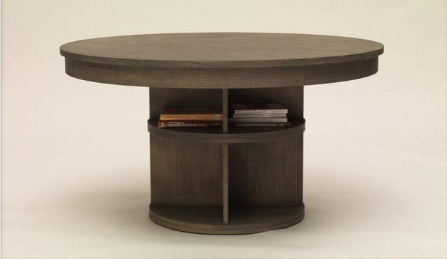Bibliophile's Dining Table by Carolina George contemporary-dining-tables