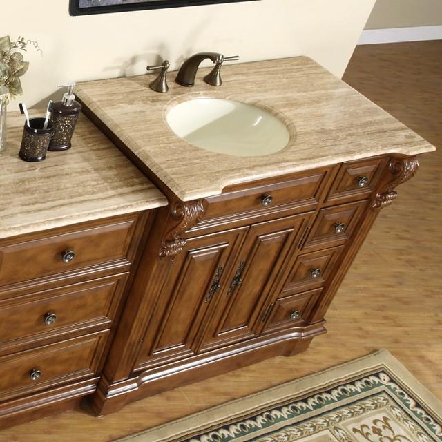 58 in. Empress Single Sink Bathroom Vanity in contemporary-bathroom-vanities-and-sink-consoles