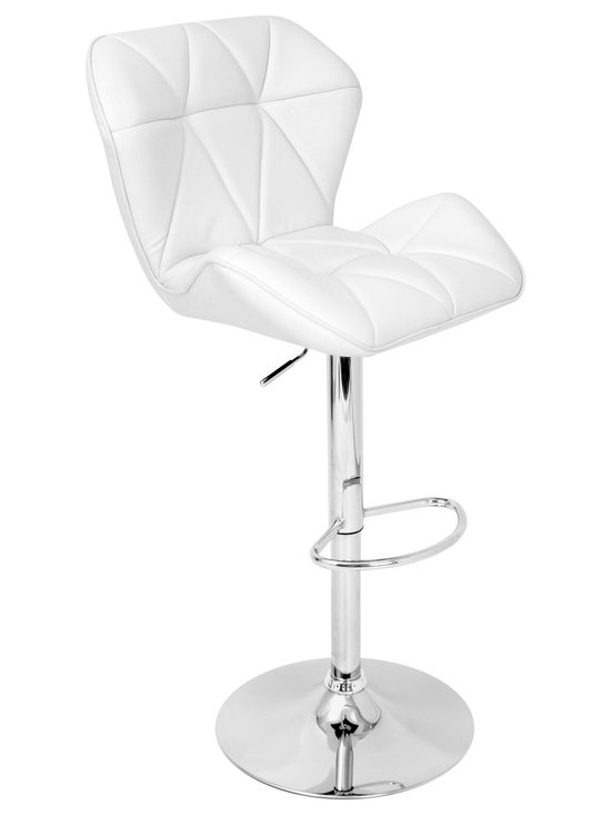Jubilee Bar Stool - WHITE