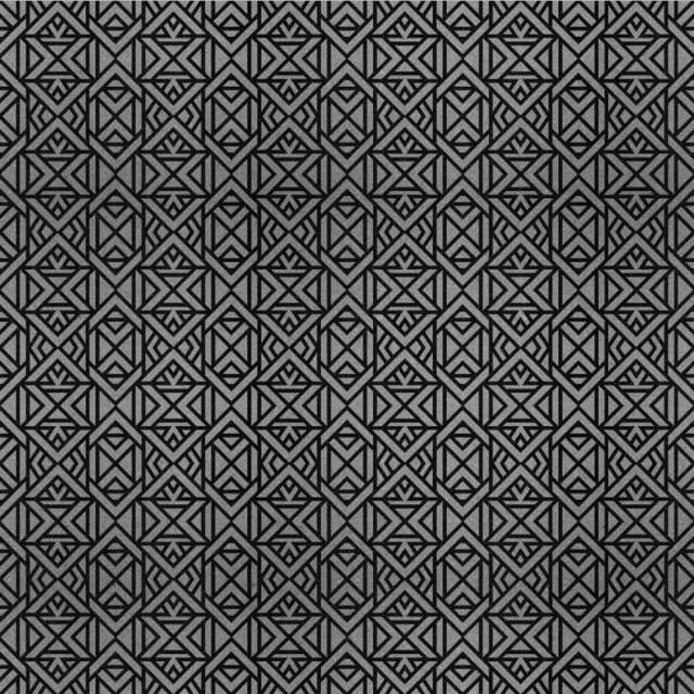 Engraved Black Granite (Design_46) modern-tile