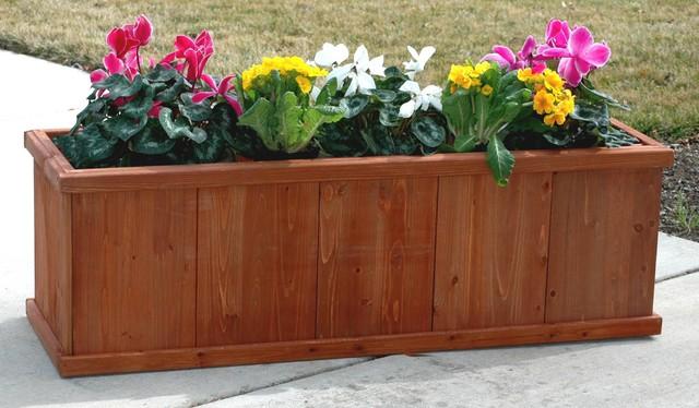 "Gran Robusto 48"" Rectangular Planter Box - Traditional ..."