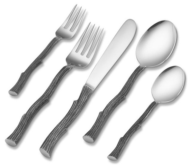 Twig 5-Piece Place Setting modern flatware
