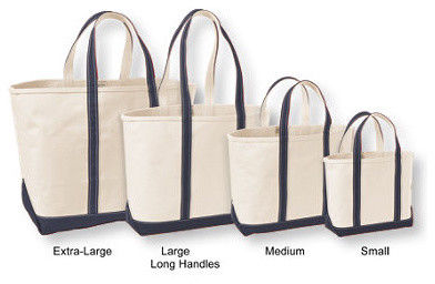 Open-Top Boat and Tote Bag traditional