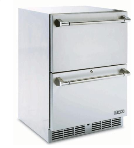 Lynx Two Drawer Refrigerator  refrigerators and freezers
