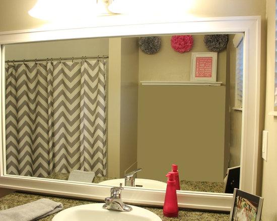 Bathroom Mirror Frame -