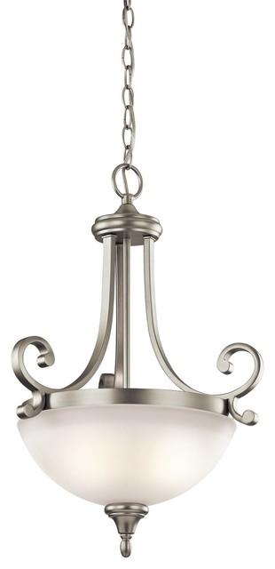 Kichler Lighting Monroe Traditional Inverted Pendant Light X-IN36134 contemporary-pendant-lighting