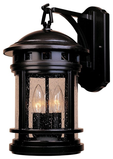 Designers Fountain Sedona Outdoor Wall Mount Light Fixture in Oil Rubbed Bronze craftsman-outdoor-wall-lights-and-sconces
