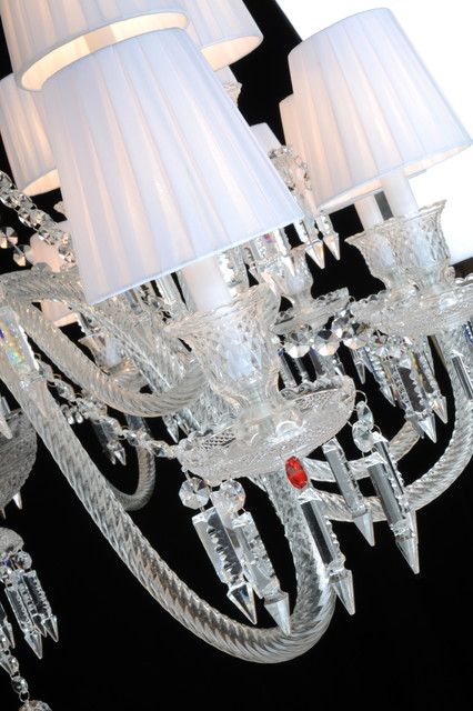 24 light Crystal Chandelier contemporary-chandeliers