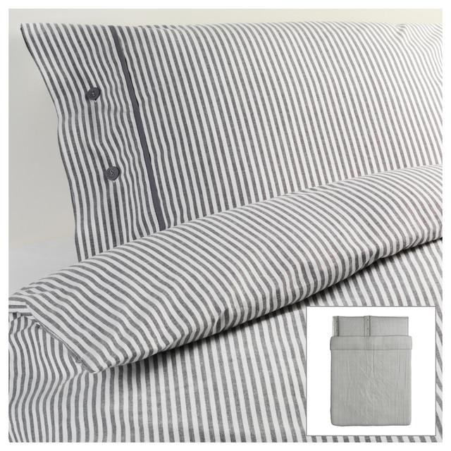 Nyponros Duvet Cover and Pillowcases modern-bedding