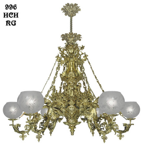 Victorian Chandeliers traditional-chandeliers