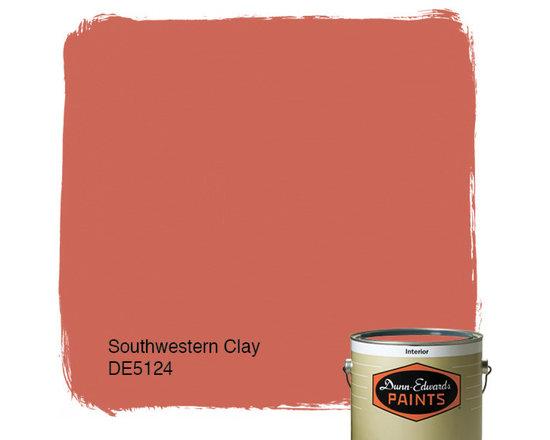 Dunn-Edwards Paints Southwestern Clay DE5124 -