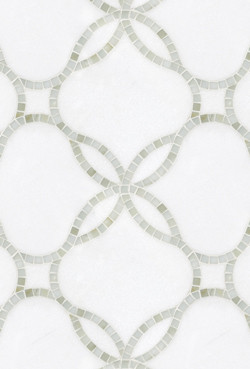 Waverly Mosaic Tile contemporary-tile